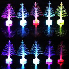 Exquisite MINI Fibre Optic Artificial Christmas Xmas Tree LED Stars Snowflake
