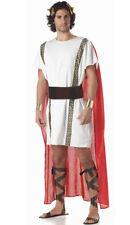 Mens Roman Greek Senator Gladiator Fancy Dress Costume Marc Anthony Costume