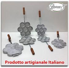 Tigelliera in alluminio 7 posti per tigella da 8,5 cm e da 6,5 cm + ricetta