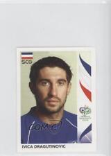 2006 Panini World Cup Album Stickers #210 Ivica Dragutinovic Soccer Card
