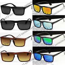 Nuevo Plano Cerradura Superior Forma Cuadrada Gafas de sol UV400