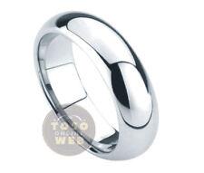 Ladie's 5.5mm Classic Dome Pipe-Cut Edge High Polish Tungsten Ring TS0130A