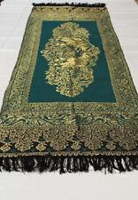 Thai Silk Table or Bed Runner Royal Elephant Design 224cm x 48cm Brand New!!