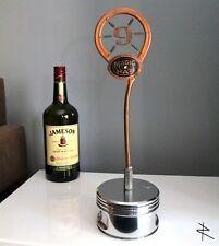 Modern Beer Bar Tap Handle Polished Piston Display Trophy Stand