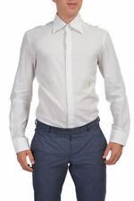 Just Cavalli Men's Multi-Color Striped Long Sleeve Casual Shirt US M L