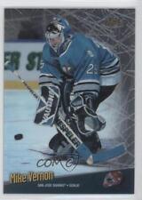 1998-99 Topps Finest No-Protector #135 Mike Vernon San Jose Sharks Hockey Card