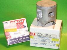 YAMAHA YZ80 1989-92 PISTON AND RING 1ST OVER SIZE OEM