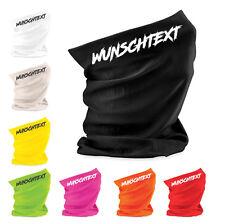 Beechfield Halstuch Morf mit Wunschname Wunschtext für Sport Motorrad 27 Farben