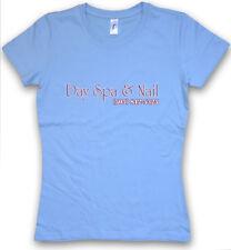 DAY SPA & NAIL WOMEN T-SHIRT Better Company Call Saul Logo Sign beauty salon