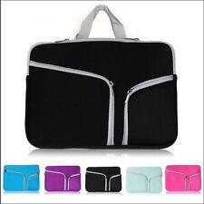 """Laptop Bag Neoprene Sleeve Case Cover Skin For MacBook Air Pro White 11""""13"""" 15"""""""
