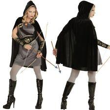 Damen Kostüm BOGENSCHÜTZIN Fantasy Kämpferin Mittelalter Robin Hood Waldläuferin