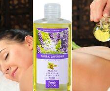 Jugo fresco Aceite de masaje baño cuerpo cuidado de la piel rosa lavanda Lima Argan & Macadamia
