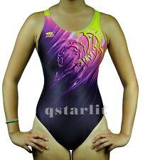 Girls Juniors Female Practice Competition Bathing Swimsuit Swimwear Sizes 24-34