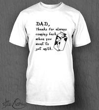 Fetching Lait T-shirt homme papa, la fête des pères, Drôle, fête des pères Got Milk