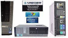 Dell OptiPlex 790/990 Intel i5 Quad SFF or DT Win 7/10 New 1TB 4GB/8GB WiFi PC