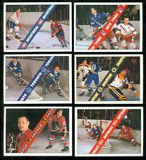 1991-92 ULTIMATE ORIGINAL 6 NHL FRENCH HOCKEY CARD 1-100 SEE LIST