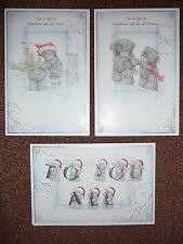 Tarjeta de Navidad Nieto y esposa novia familia Tatty Teddy Me To You