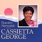 FREE US SHIP. on ANY 2+ CDs! NEW CD George, Cassietta, Norwood, Doro: Dorothy No