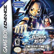 Shaman King: Legacy of Spirits -- Sprinting Wolf - Game Boy Advance GBA Game