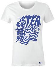 """SOLE SISTER 3"" Women/Juniors T-Shirt to Match Air Retro 12-DEEP ROYAL BLUE 12's"