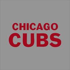 Chicago Cubs #5 MLB Team Logo Vinyl Decal Sticker Car Window Wall Cornhole