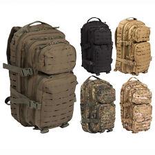 MIL-TEC US Rucksack ASSAULT Pack II LASER CUT Small, Outdoor Backpack 20L