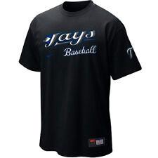 Nike Toronto Blue Jays Baseball Practice 2010 LOOSE FIT Men's T-Shirt, Black NEW