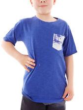 Brunotti T-Shirt Ancondo Sportshirt Sommershirt blau Brusttasche