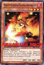 Yu-Gi-Oh! Folletto della Fiamma Infuocato 1° ED in ITALIANO BP01-IT136 Nuovo GX