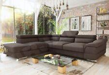 Eckcouch Lagos mit Bettkasten mit Schlaffunktion Modernes Ecksofa Lagos Sofa