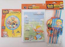 Bob the Builder Birthday 20 Invitations & Envelopes Foil Balloons Party Straws