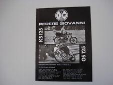 advertising Pubblicità 1971 MOTO ZUNDAPP KS 125 / GS 125