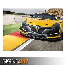 RENAULT SPORT RS RACING CAR (9024) Car Poster - Poster Print Art A0 A1 A2 A3 A4