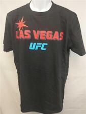 NEW Las Vegas UFC Adult Mens Unisex Sizes M-L Black Reebok Shirt