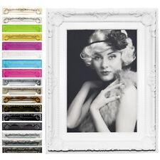 Bilderrahmen Fotogalerie Kunststoff Antik Barock Collage 15 Farben 6 Größen #51