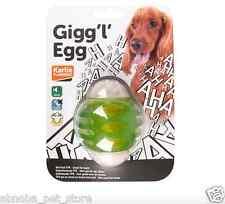Gigg L huevo Giggle sonido Super Fuerte Juguete Perro Nylon TPR prácticamente indestructible