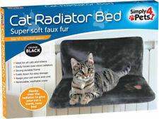 Cat Kitten Radiator Super Soft Pouch Bed Basket Warm Fleece Cradle Hammock