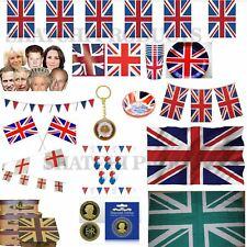 Union Jack décorations Party Supplies Queens 90e anniversaires Royal