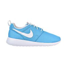 Nike Roshe One Boys Shoes Chlorine Blue/White/Safety Orange 599729-412