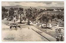 Hotel Chula Vista Swimming Pool Cuernavaca Mexico RPPC Real Photo postcard