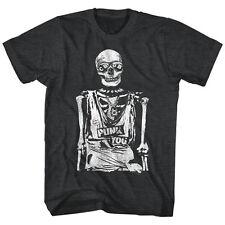 CBGB & OMFUG  Licensed Mens T-Shirt PUNK YOU in  Black Heather Sizes SM - 5XL