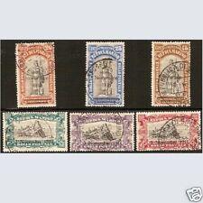 San Marino 1918 Vittoria Serie completa n. 63/68 Usati