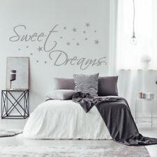 Wandtattoo AA308 Schlafzimmer Sweet Dreams Wandaufkleber  Sterne