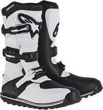 ALPINESTARS Trials Offroad 2017 TECH-T Boots (White/Black) Choose Size