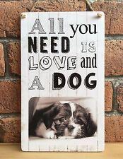 Hecho a mano de madera personalizado de Mascotas Paw Print Perro de salvamento Recuerdo Regalo Especial
