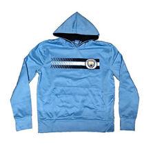 Manchester City Shower Proof Jacket Mens Blue Football Soccer Fan Rain Coat Top