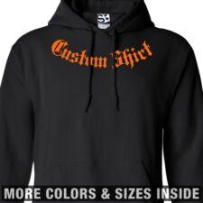 Custom Addiction HOODIE Personalized Thug Sweatshirt - All Sizes & Colors