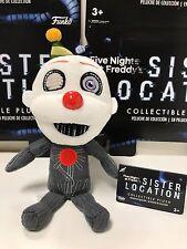 Funko Five Nights At Freddy's SISTER LOCATION PLUSH ENNARD FUNTIME FREDDY NEW