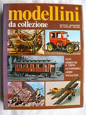 MODELLINI DA COLLEZIONE NAVI FERROVIE E TRENI.. DE AGOSTINI 1974