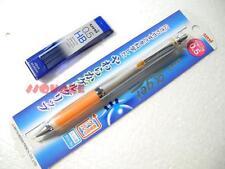 Uni-Ball Alpha Gel Slim Mechanical Pencil + 40 pencil leads, Orange